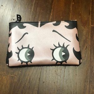 Special Edition Betty Boop cosmetic bag